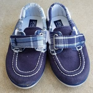 ▪Polo Ralph Lauren ▪ Plaid Boat Shoes